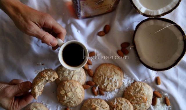 Almond Coconut Cookies - Նուշով Թխվածքաբլիթ