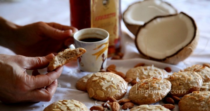 Almond Coconut Cookies Recipe
