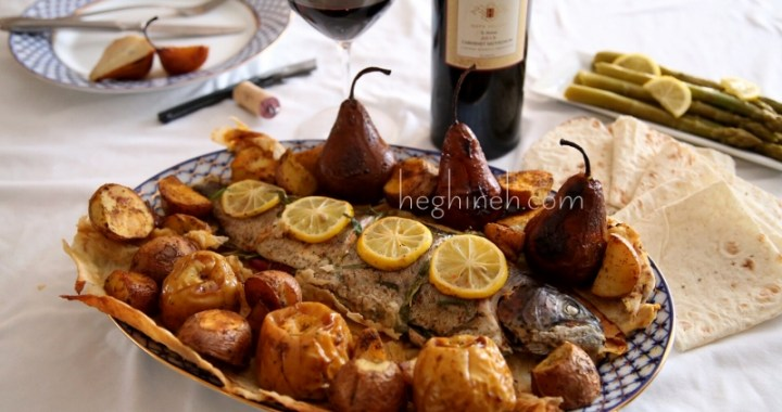 Armenian Easter Dish - Lavash Baked Fish Recipe