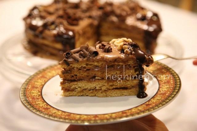 Honey Cake Recipe - Տորթ Մեղրամիս