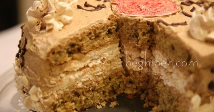 Meringue Walnut Cake Mesrop Mashtots