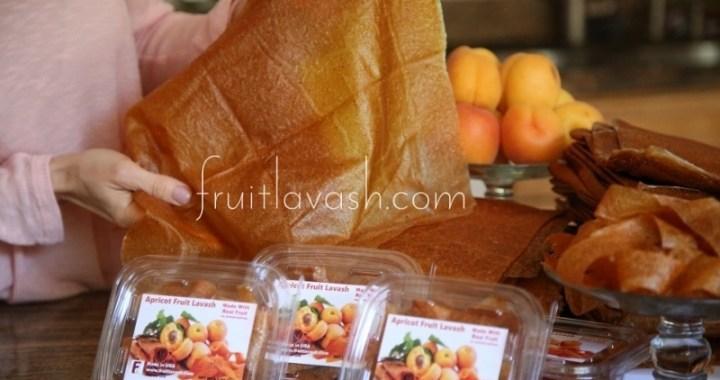 Apricot Fruit Lavash on Fruitlavash.com