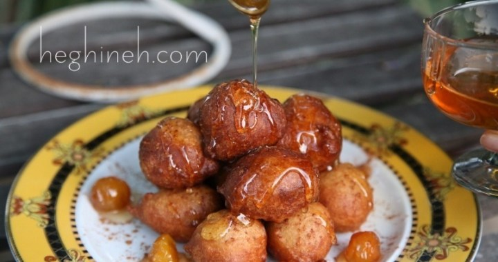 Fried Doughnuts Recipe - Greek Loukoumades