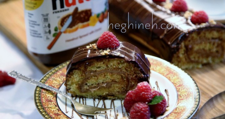Chocolate Nutella Swiss Roll Recipe