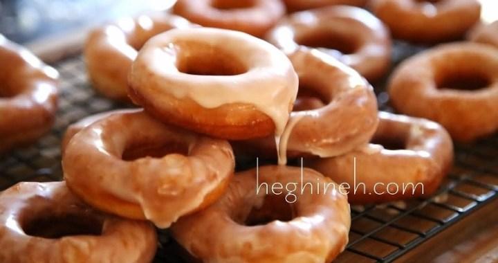 Sugar Glazed Doughnuts Recipe - Pishki - Пышки