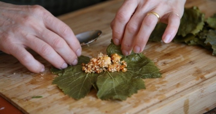 Vegetarian Tolma Recipe - Պասուս Տոլմա