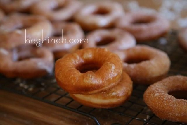 Sugar Glazed Doughnuts Recipe by Heghineh