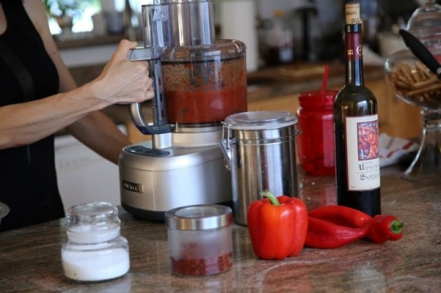 Red Pepper Paste Recipe - Red Pepper Dip