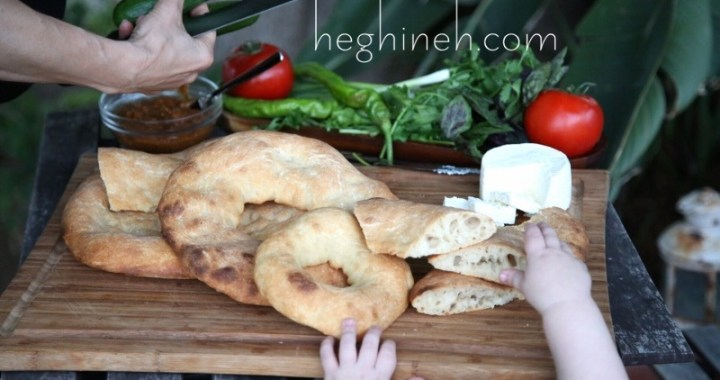 Armenian Country Bread Losh