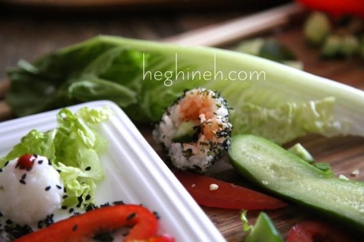 Stuffed Rice Balls Recipe - Sushi Balls