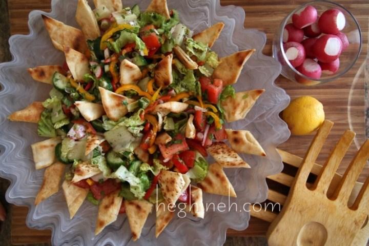 Fattoush Salad Recipe - Middle Eastern Food