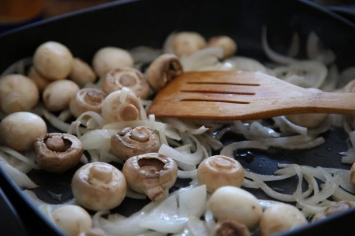 Chicken and Mushrooms Recipe - Armenian Cuisine