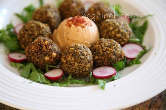 Falafel Balls Recipe - Middle Eastern Food