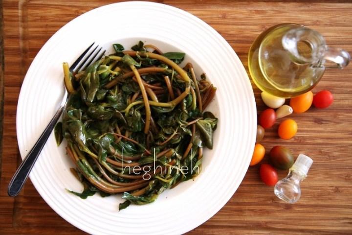 Purslane Salad Recipe- Դանդուռով Աղցան