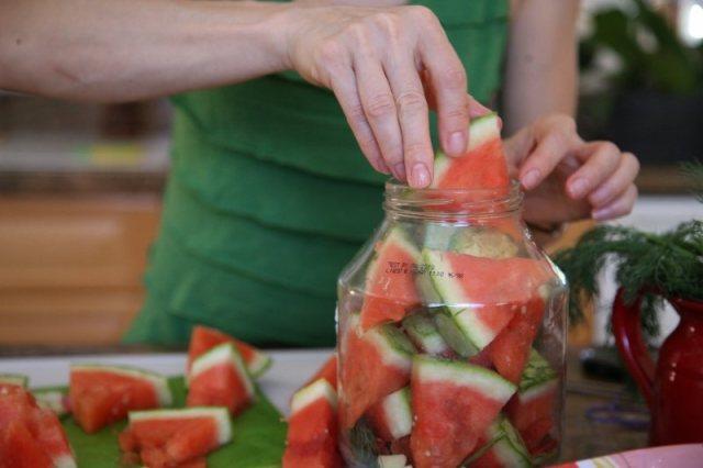 Pickled Watermelon Recipe - Ձմերուկի Թթու