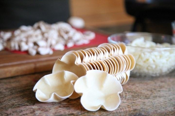 Mushroom Julienne -Holiday Appetizer Recipes