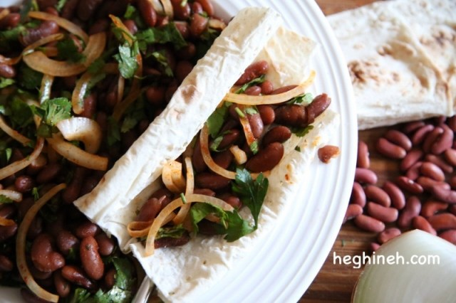 Red Bean Salad Recipe - Լոբով Աղցան