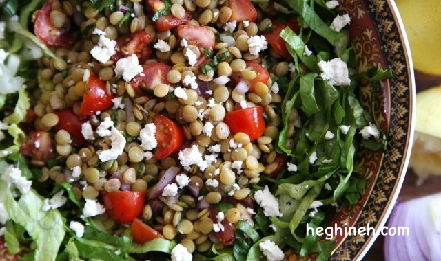 Lentil Salad with Feta Recipe