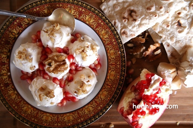 Strained Yogurt Salad - Armenian Cuisine
