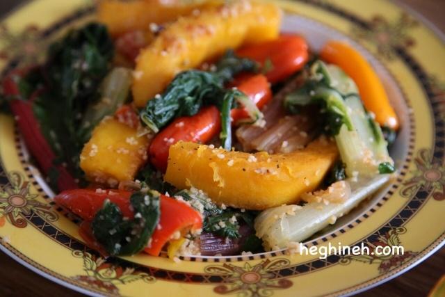 Swiss Chard Pumpkin Dish - Armenian Cuisine
