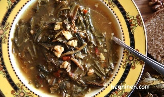 Sorrel Soup Recipe - Aveluk - Ավելուկով Ապուր
