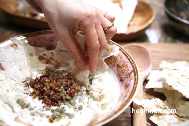 Lentil Yogurt Soup - Qalagosh - Քյալագոշ