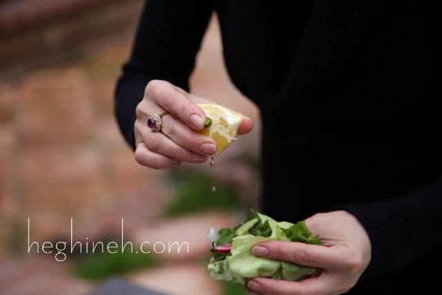 Dandelion Salad Recipe by Heghineh