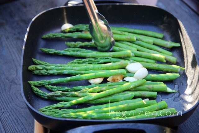 Asparagus and Eggs Appetizer Recipe