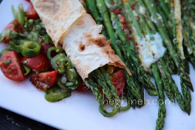 Asparagus and Eggs Appetizer Recipe