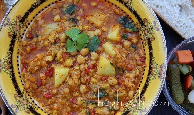 Chickpea Soup Recipe - Armenian Cuisine