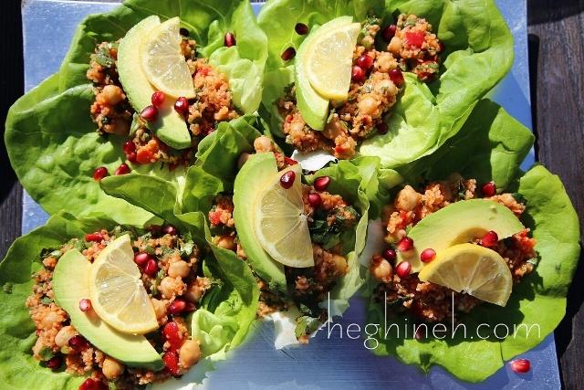 Chickpea Bulgur Salad Recipe - Armenian Cuisine