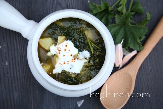 Malva Mallow Soup Recipe