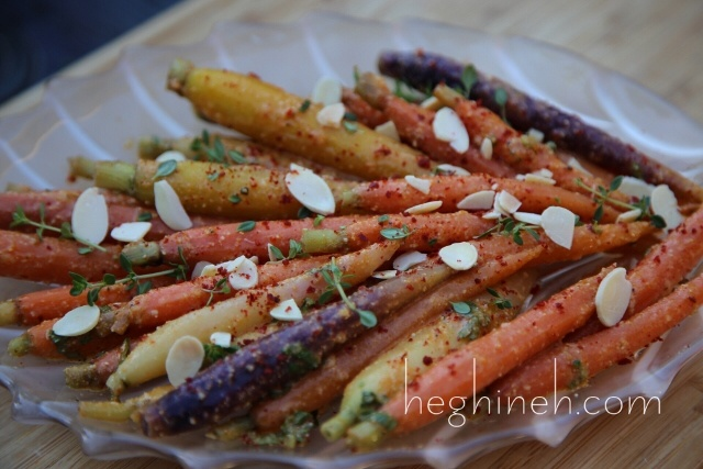Tahini Carrot Appetizer Recipe by Heghineh