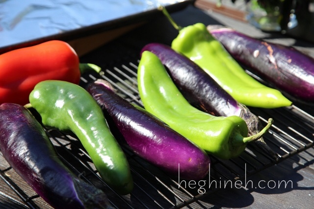 Grilled Vegetables Salad Recipe - Armenian Cuisine