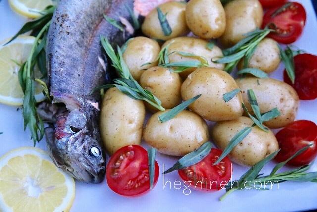 Tarragon Fish Recipe - Armenian Cuisine