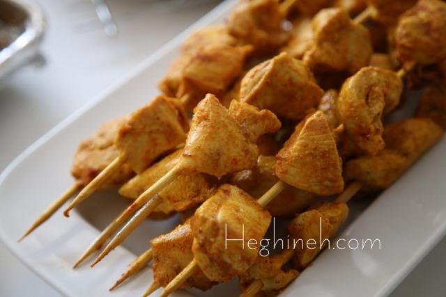 Chicken Kebab Recipe - Արագ Հավի Խորոված