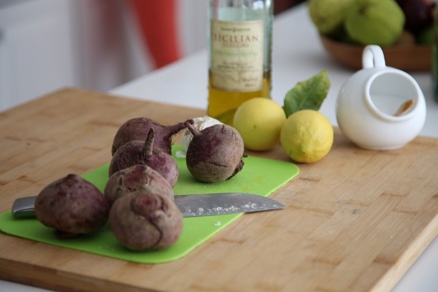 Roasted Beetroot Pasta Salad Recipe