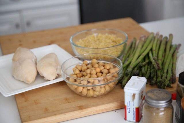 Pilaf Qashovi with Garbanzo Beans - Armenian Cuisine