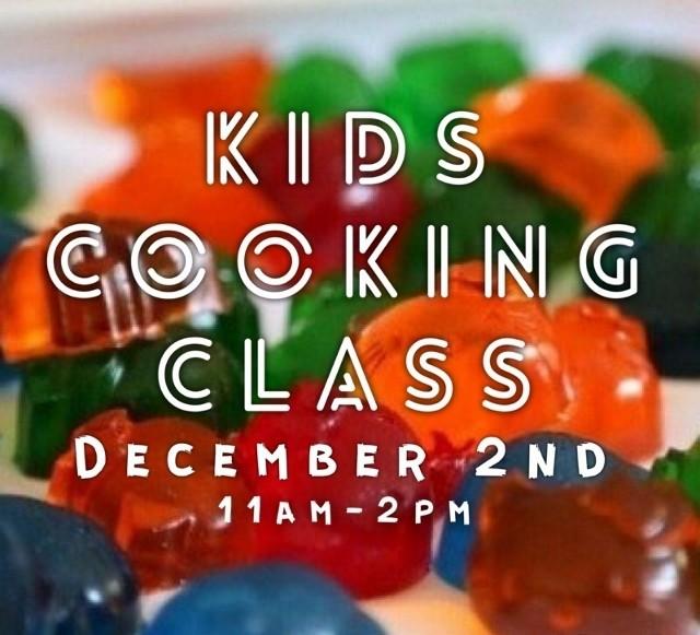 Kids Cooking Class - December 2nd