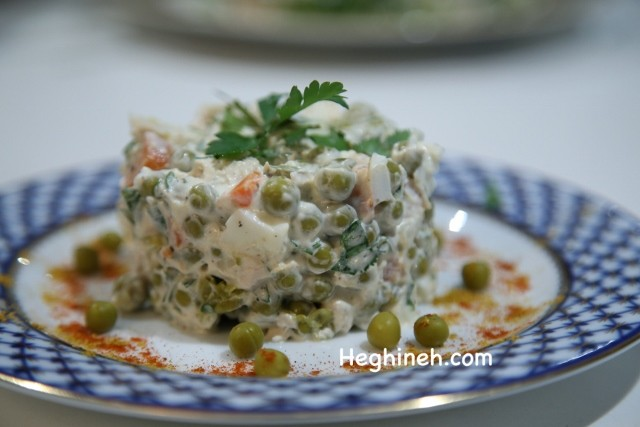 Salad Oliver Recipe - Աղցան Օլիվյե
