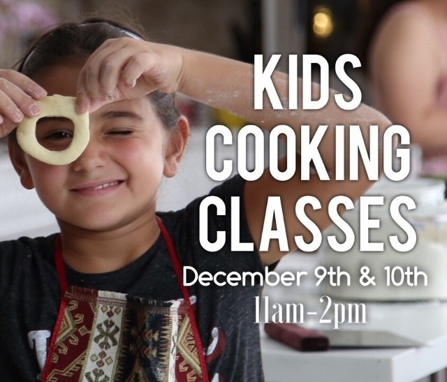 Kids Cooking Classes - December 9th & 10th
