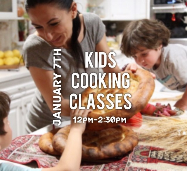 Kids Cooking Class by Heghineh - January 7th