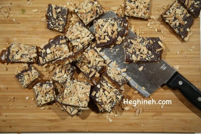 Buttercrunch Brittle - Նուշով Շոկոլադով Կոնֆետ