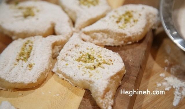 Kurabia Butter Cookies - Ղուրաբիա Թխվածքաբլիթներ - Heghineh.com