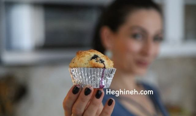 Հապալասով Մաֆին - Blueberry Muffins Recipe - Heghineh Cooking Show in Armenian