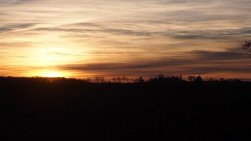 coucher de soleil Salettes
