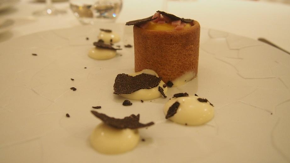 croque madame truffes et foie gras