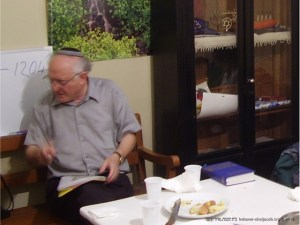 Visita do Rabino Leo Abrami | Avenida Elias Garcia