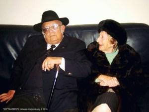 Salomão Marques e esposa Hannah