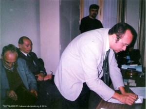 Assinatura da escritura pública em Notário | Danilo Souza | 1999